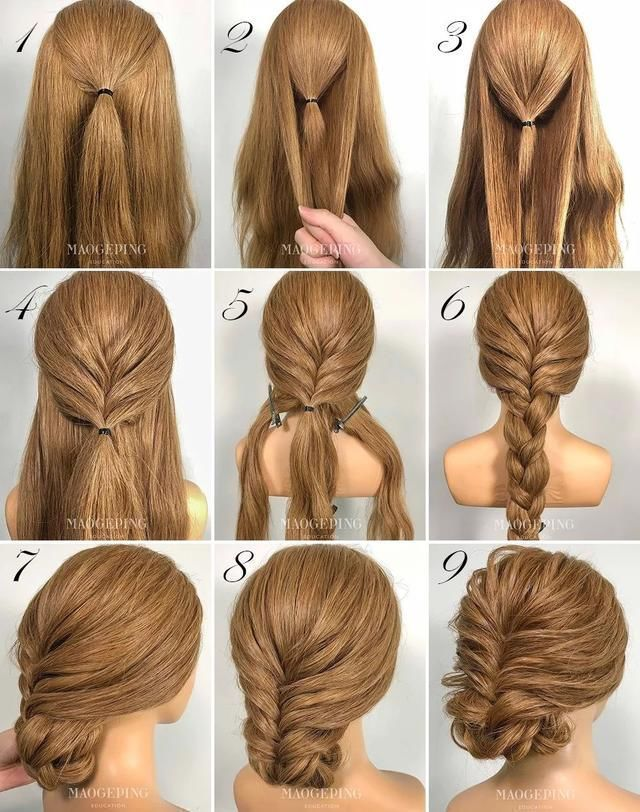 Braid hairstyle and chongo below. Hairstyle at night: for weddings, xv years or … – hairstyles | bob hairstyles | short hairstyles