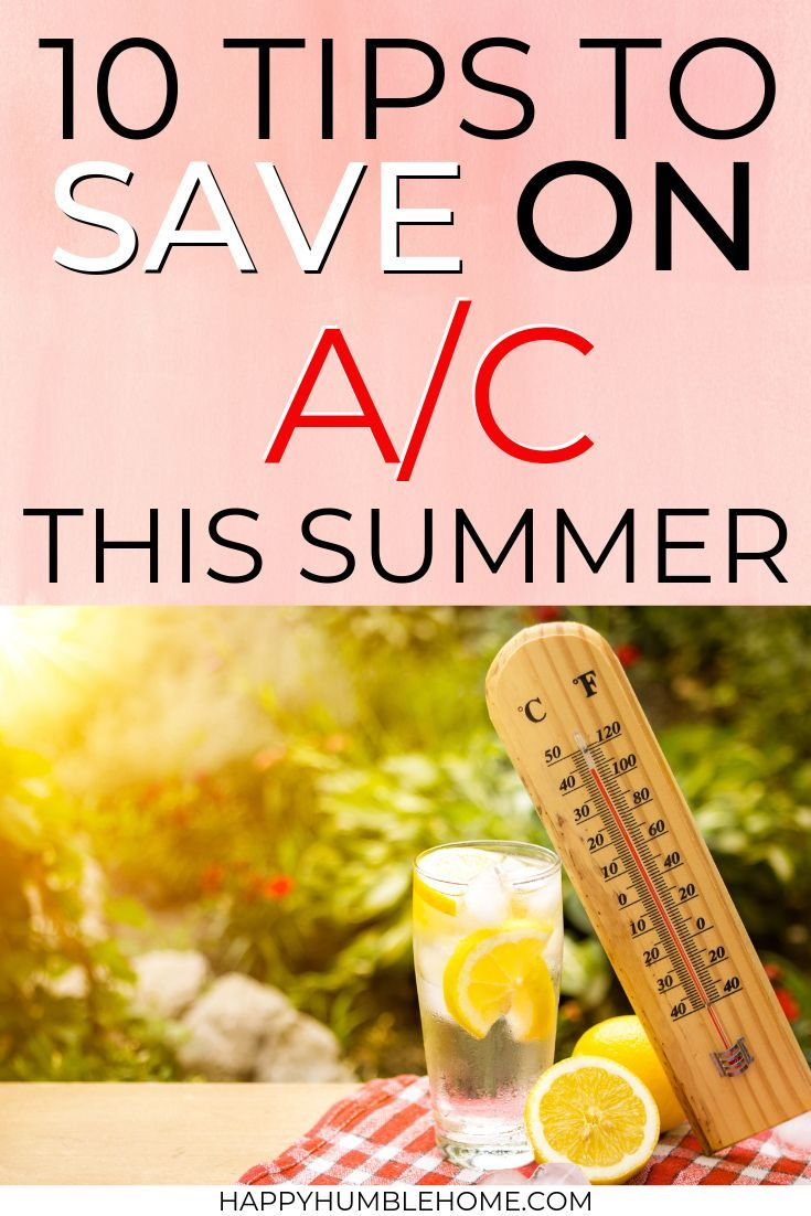 How to Save Money on Air Conditioning Best money saving