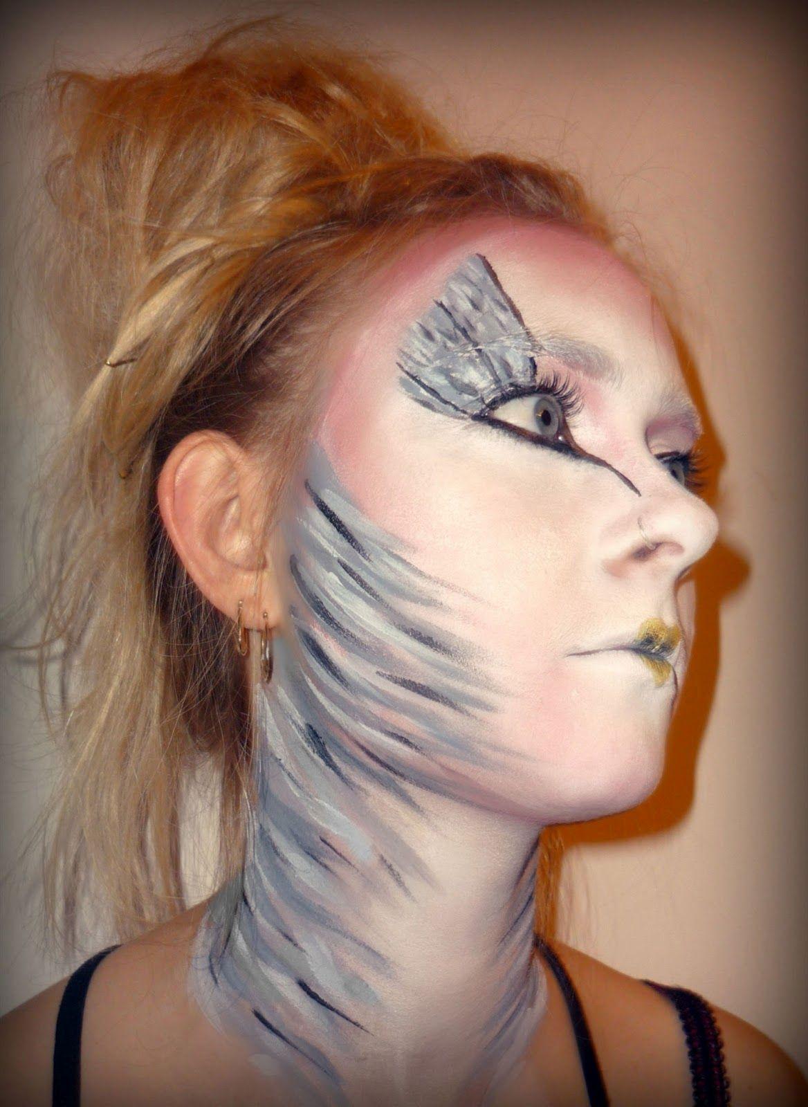 Sculptured Mess The Bird Creative Makeup (With images