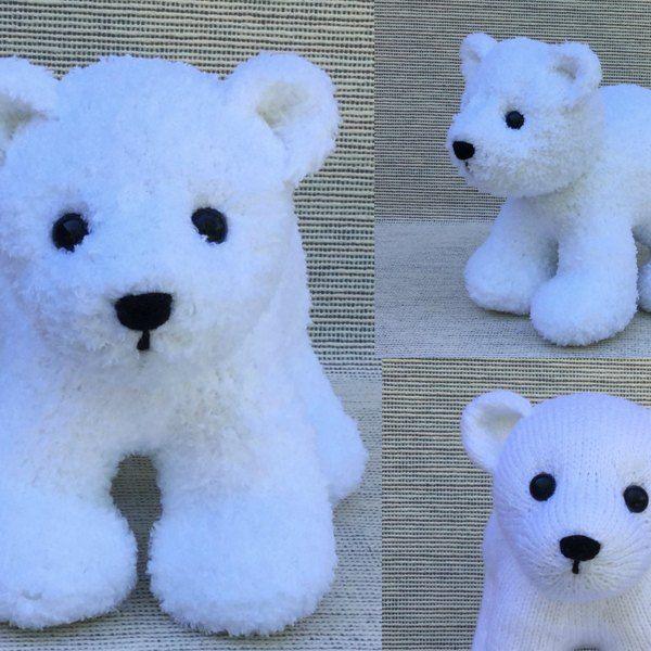 Polar Bear Cub Knitting Pattern By Rainebo