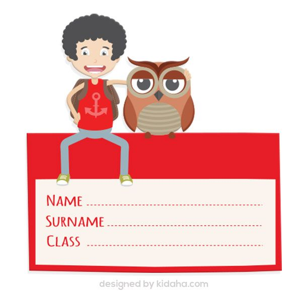 student and owl name tag free education clip arts for kids parents rh pinterest nz