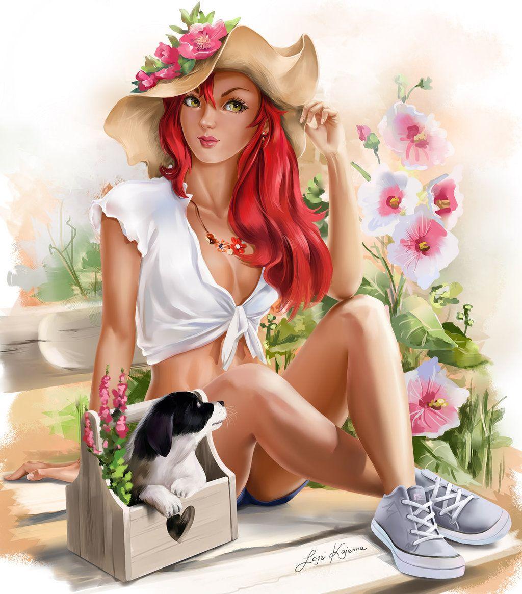 Summer by Kajenna.deviantart.com on @DeviantArt