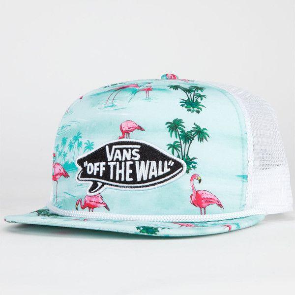 VANS Pink Flamingo Mens Trucker Hat ( 24) ❤ liked on Polyvore ... 75918d4212c