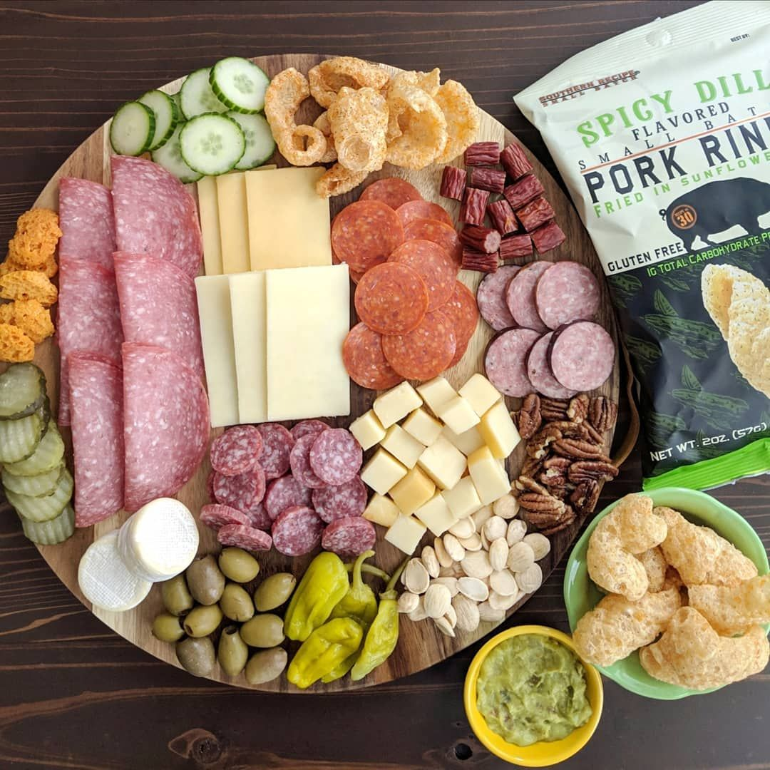 Low Carb Charcuterie Board Meat Cheese Nuts Cucumbers Peppers Pickles Olives So Yumm Meat And Cheese Tray Low Carb Appetizers Meat Cheese Platters