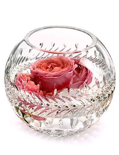 Waterford Crystal Fleurology Collection Crystal Glassware Crystal Vase Waterford Crystal