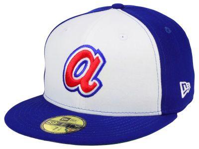 premium selection 47747 b674a Atlanta Braves New Era MLB Cooperstown 59FIFTY Cap