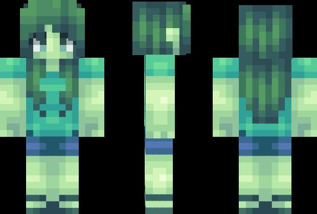 Zombie Girl Minecraft Skin Minecraft Pinterest Minecraft Skins - Skins para minecraft pe zombie