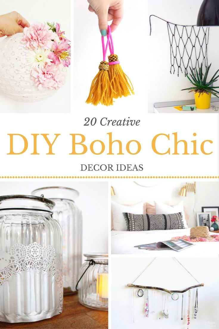 Boho Chic Diy Decor Inspiration Boho Chic Decor Chic Bedroom