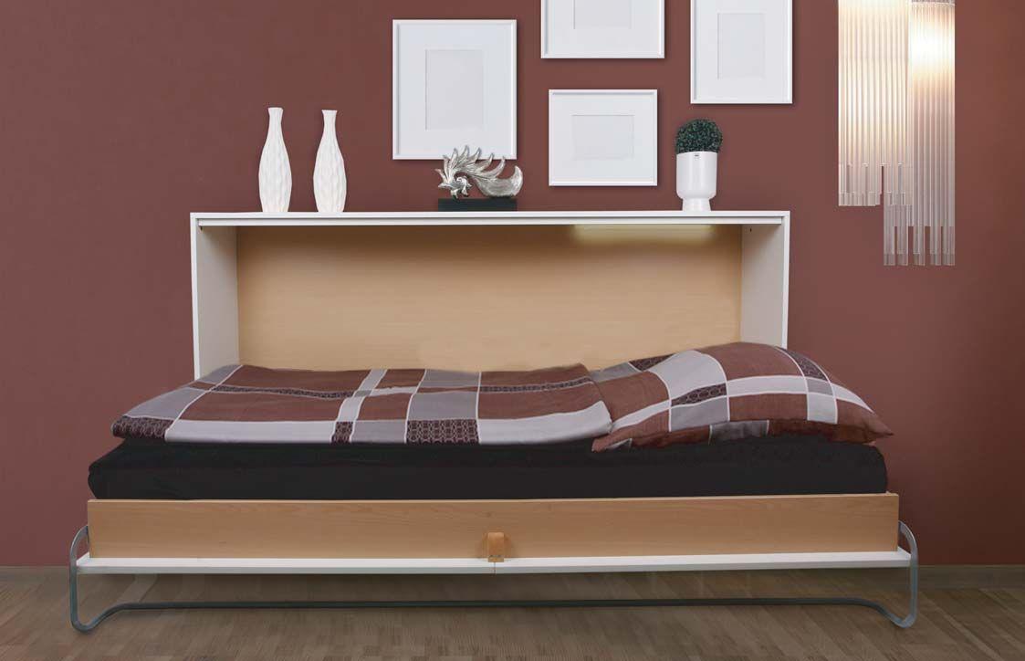 Wohnideen Nehl basic liggandesängskåp från nehl wohnideen basic wall bed from nehl