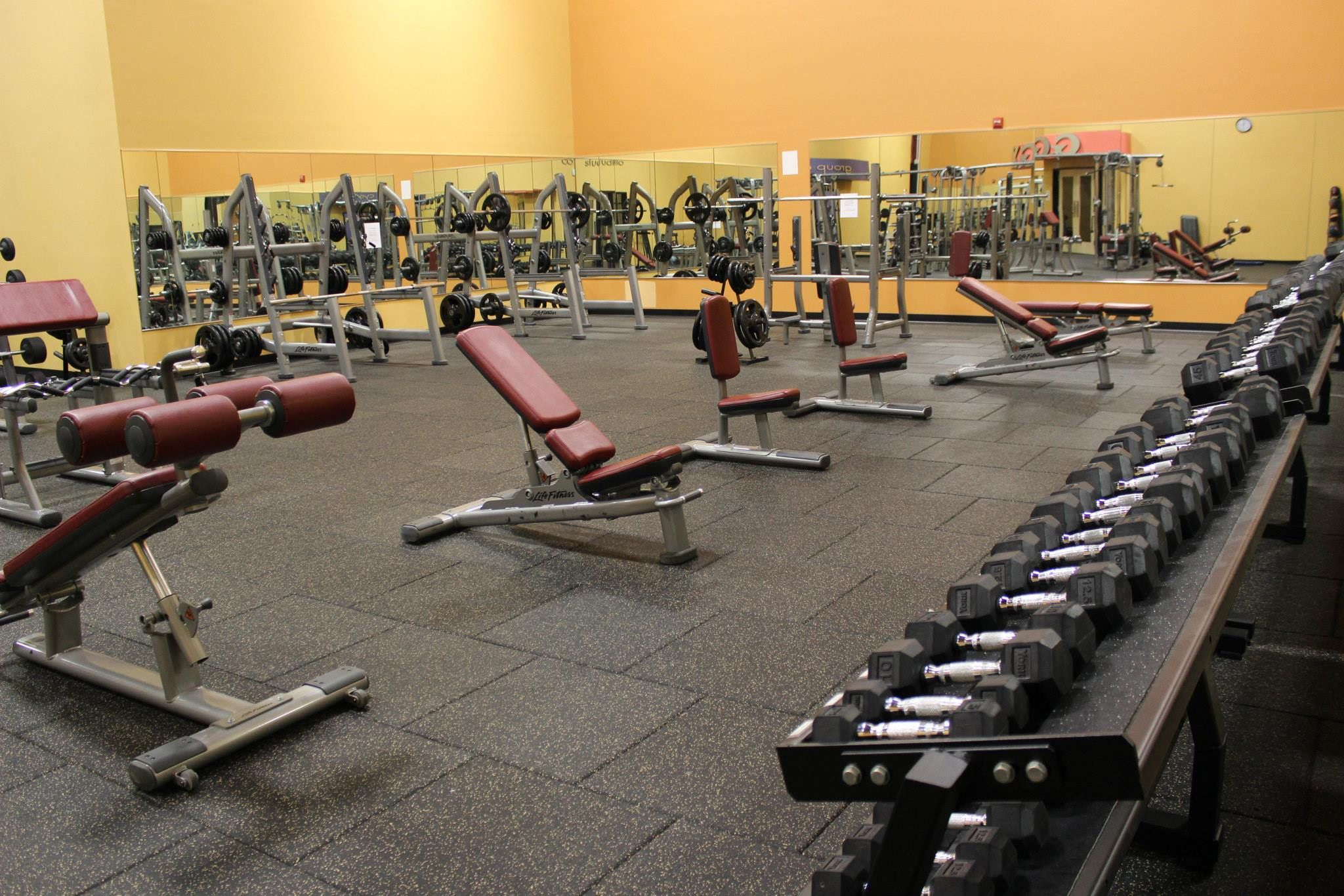 Thor Pro Tile Installation For Golds Gym Eldersburg In Eldersburg,
