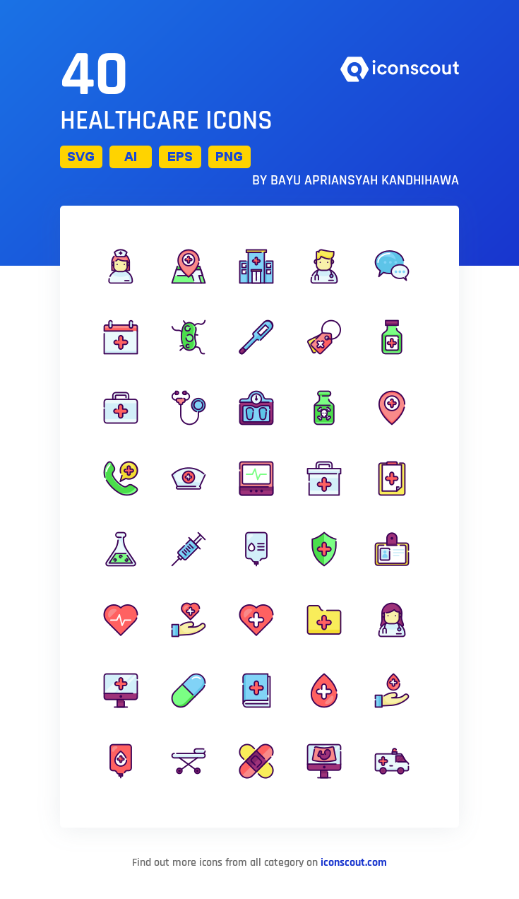 Download Healthcare Icon pack Available in SVG, PNG, EPS