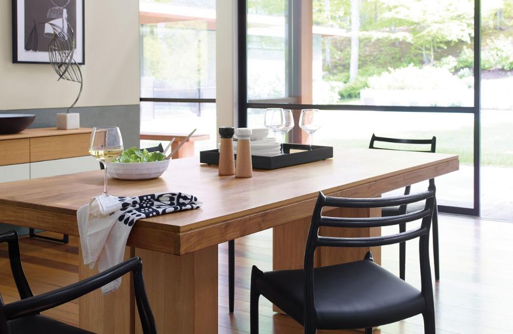 Kayu Teak Dining Table - Design Within Reach | Teak Dining Table, Teak Dining Chairs, Affordable Dining Room