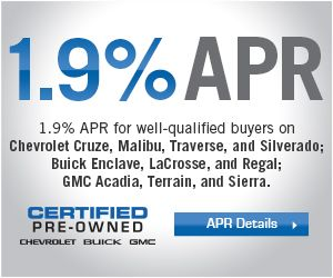 Get 1 9 Financing On Any Gm Certified Vehicle Including Chevy Cruze Malibu Traverse And Silverado Buick With Images Certified Used Cars Buick Enclave Cruze