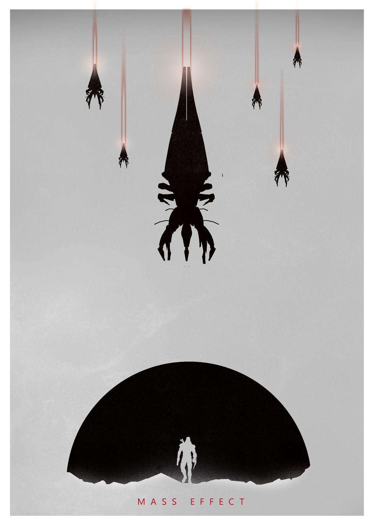 Mass Effect Poster - Created by GeekyNinja