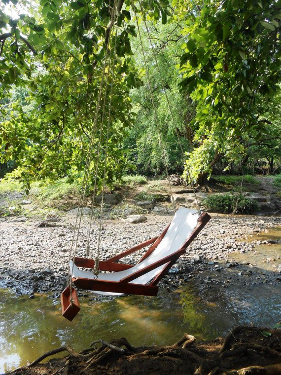 Hanging Chair With Footrest Hanging Hammock Chair Hanging Chair Home And Living