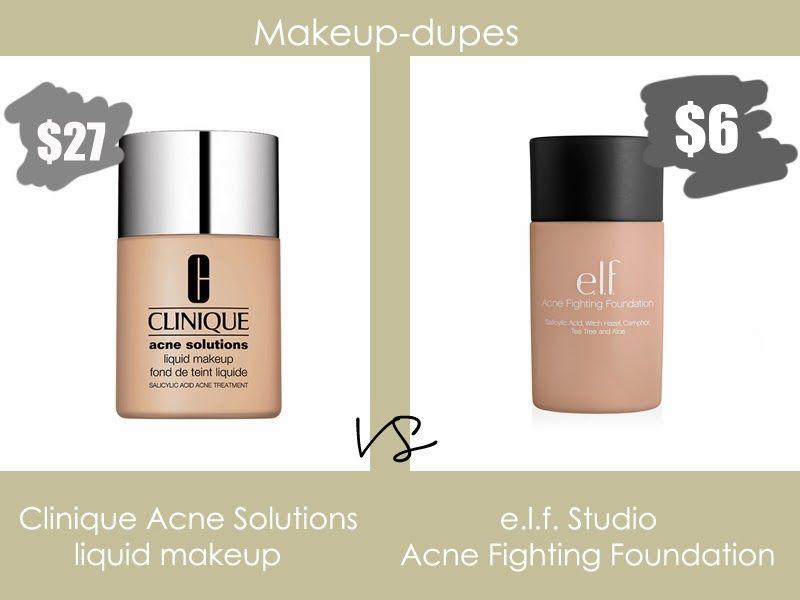 Clinique Acne Solutions Dupe Makeup Dupes Clinique Acne Solutions Cruelty Free Makeup Dupes