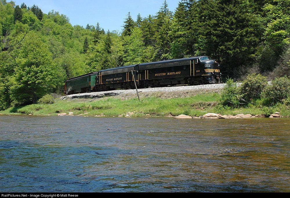 RailPictures.Net Photo: DGVR 243 West Virginia Central Railroad EMD FP7 at Near Linan, West Virginia by Matt Reese