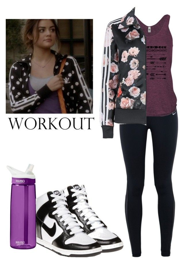 U0026quot;Aria Montgomery Sport Outfit - pll / pretty little liarsu0026quot; by shadyannon liked on Polyvore ...
