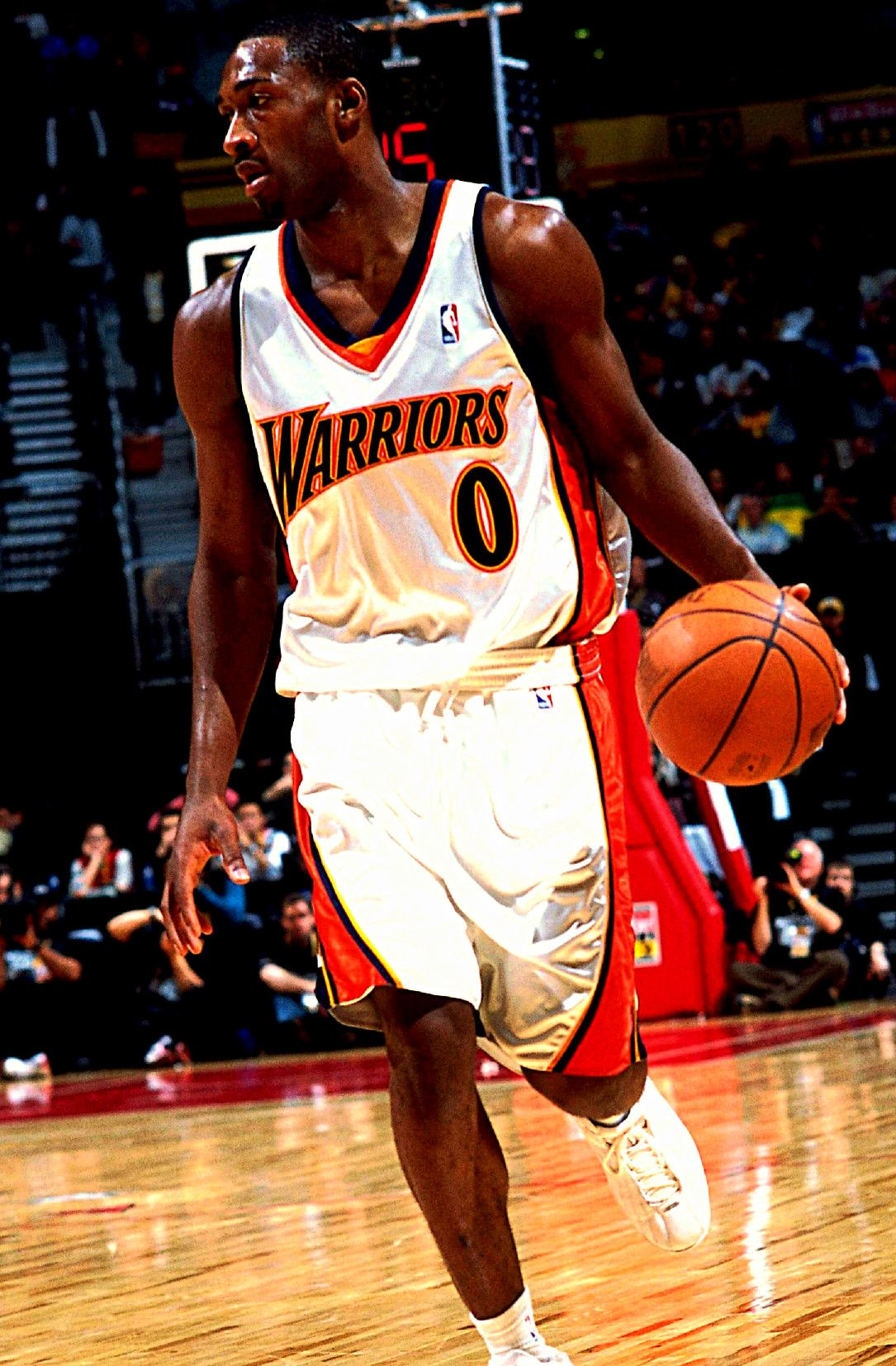 Gilbert Arenas. Gilbert Arenas with the Warriors ... 06d03ee07