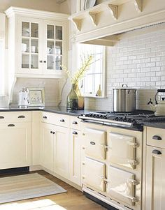 Cream White Kitchen Google Search