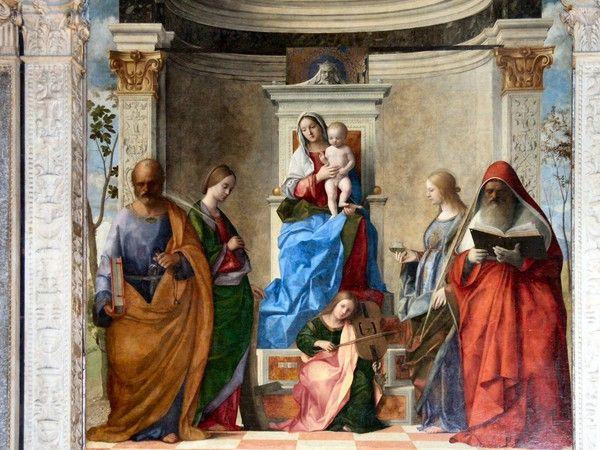 Pala di San Zaccaria di Giovanni Bellini - Descrizione dell'opera e mostre in corso - Arte.it