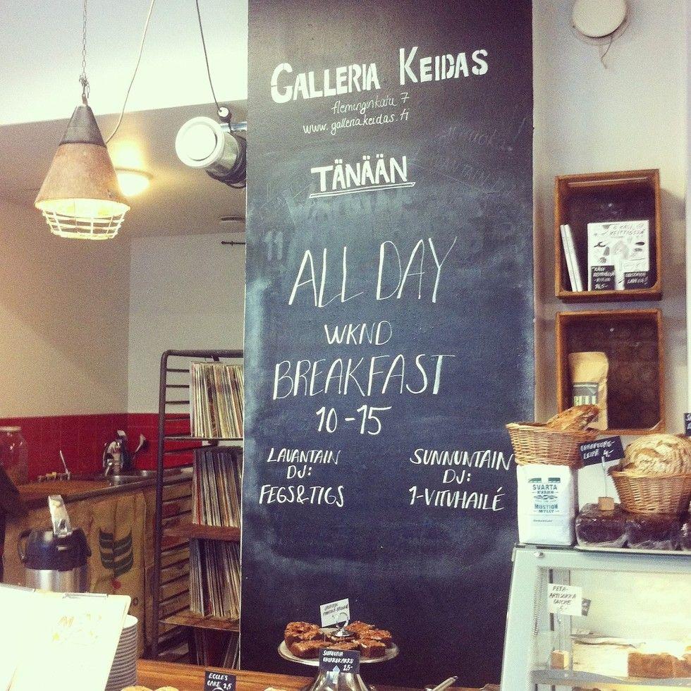 Kallion kivoin kahvila – Galleria Keidas - (pikkuseikkoja) | Lily.fi