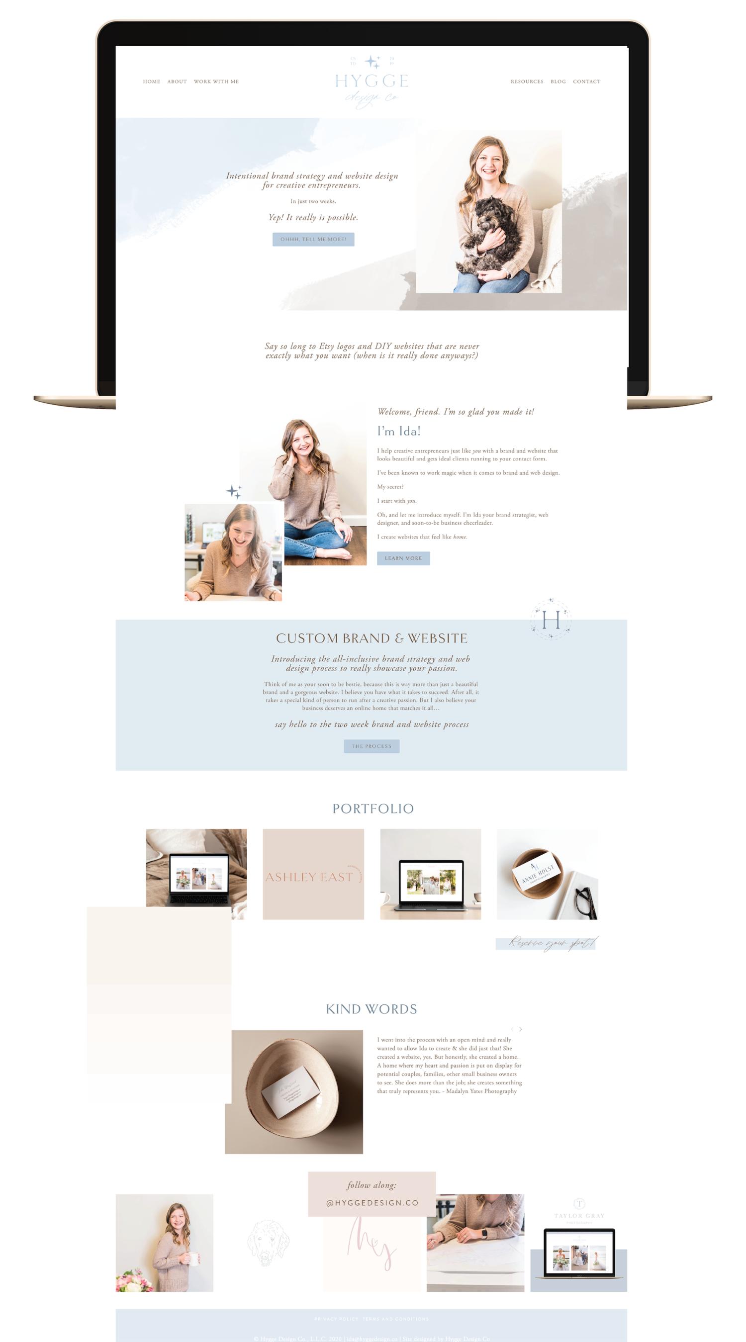 Girlboss Designer Website Branding And Web Design For Women Entrepreneurs Wordpress Theme By Lo Business Web Design Web Layout Design Website Design Company
