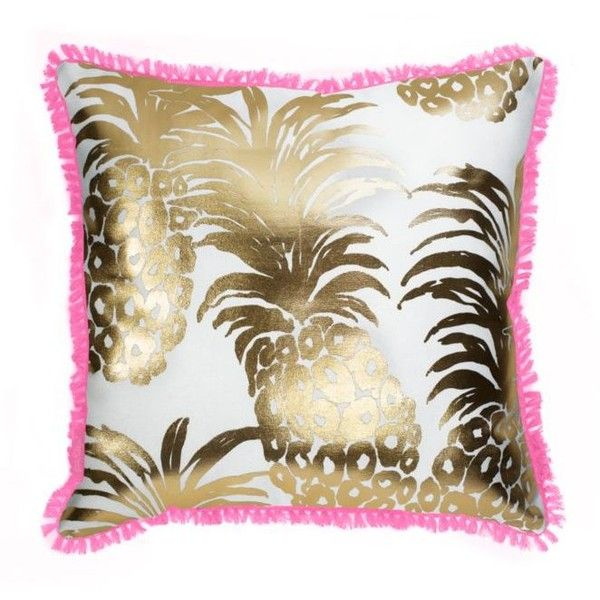 Lilly Pulitzer Flamenco Large Pillow 40 Liked On Polyvore Custom Lilly Pulitzer Decorative Pillows