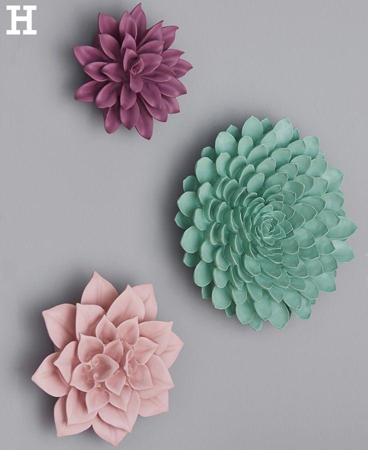Blühende Dekoration Für Die Wand. #Wand #Deko #Dekoration #Blume #Blüte