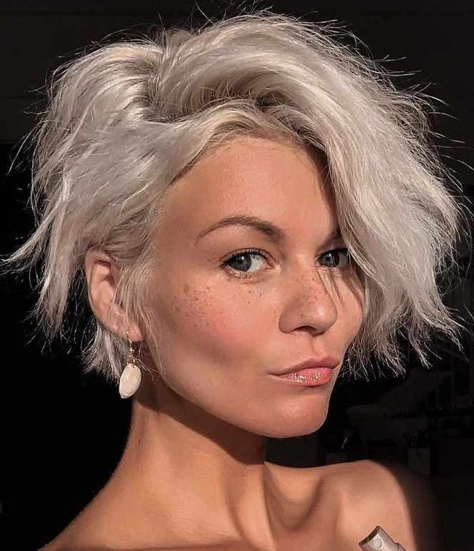 Hairstyles For Square Faces Over 40: 40 Fashionable Super Short Hairstyles 2020