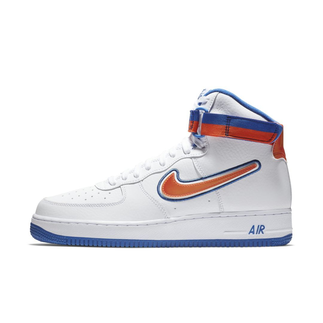online store ce0ca c82f4 Nike Air Force 1 NBA High (New York Knicks) Mens Shoe Size 11.5 (White)