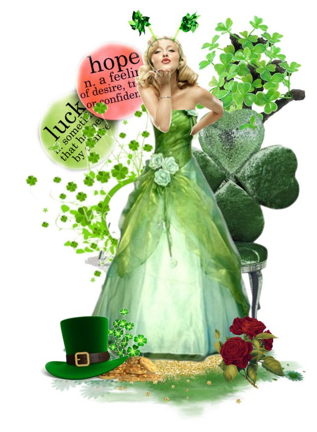 TAS Set Feb 28th, 2017 Luck of the Irish by sabine-713 on Polyvore featuring polyvore картины