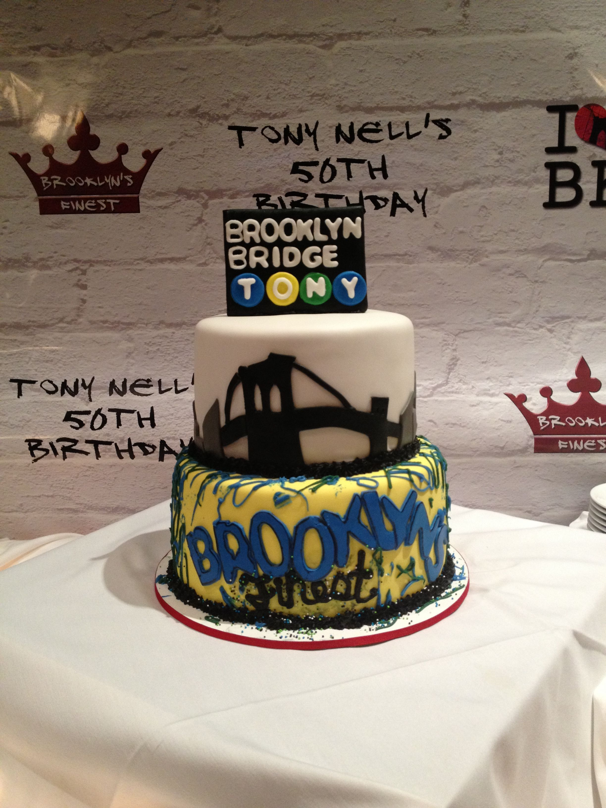 Super Tony Loves His Hometown Of Brooklyn Ny So The Party Theme Was To Funny Birthday Cards Online Bapapcheapnameinfo