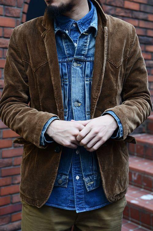 Pin Von F H Auf Fundamental Fashion Manner Mode Cord Sakko