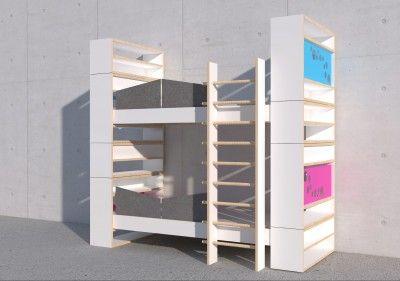 This Modular Bunk Bed Called Kajuttenbett By Swiss Roland Jaggi And