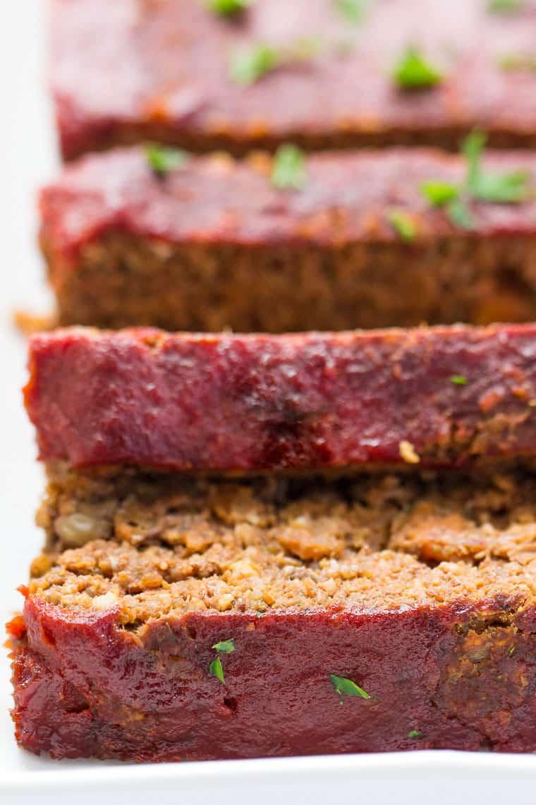 Vegan Lentil Meatlaof Not Soggy Simply Quinoa Recipe In 2020 Quinoa Meatloaf Recipes Vegan Meatloaf