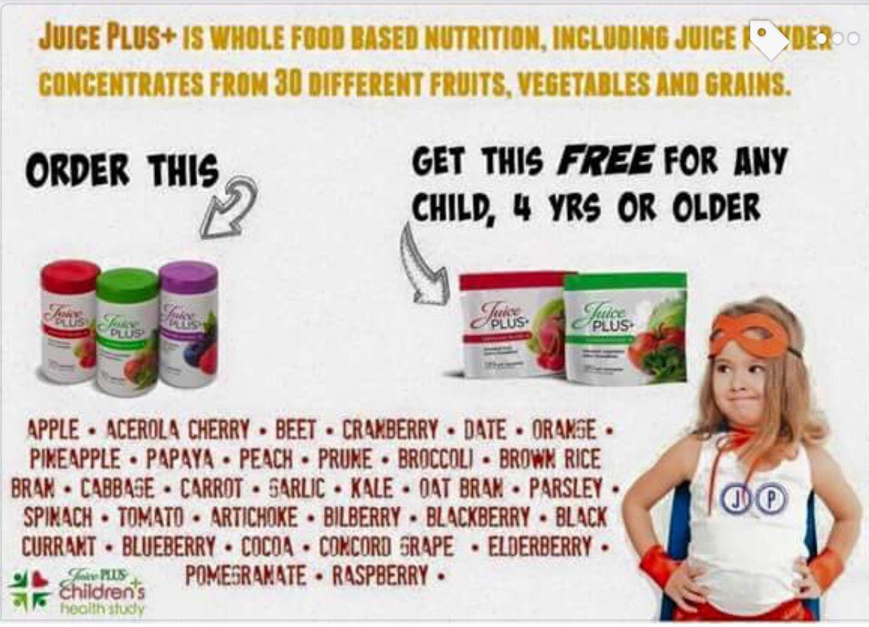 Juice plus gummies for kids