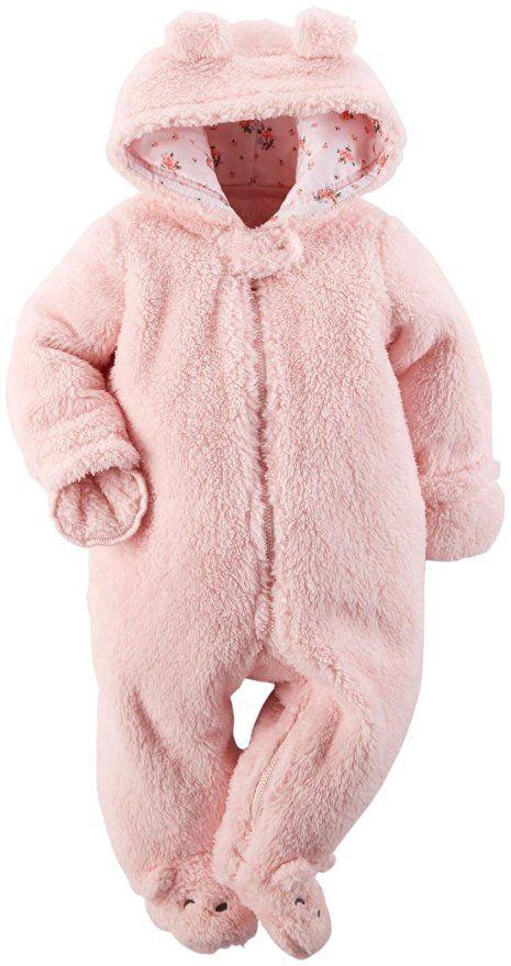 d8f37c50c Carter s Baby Girls  Sherpa Pram (Baby) - Pink - 6 Months