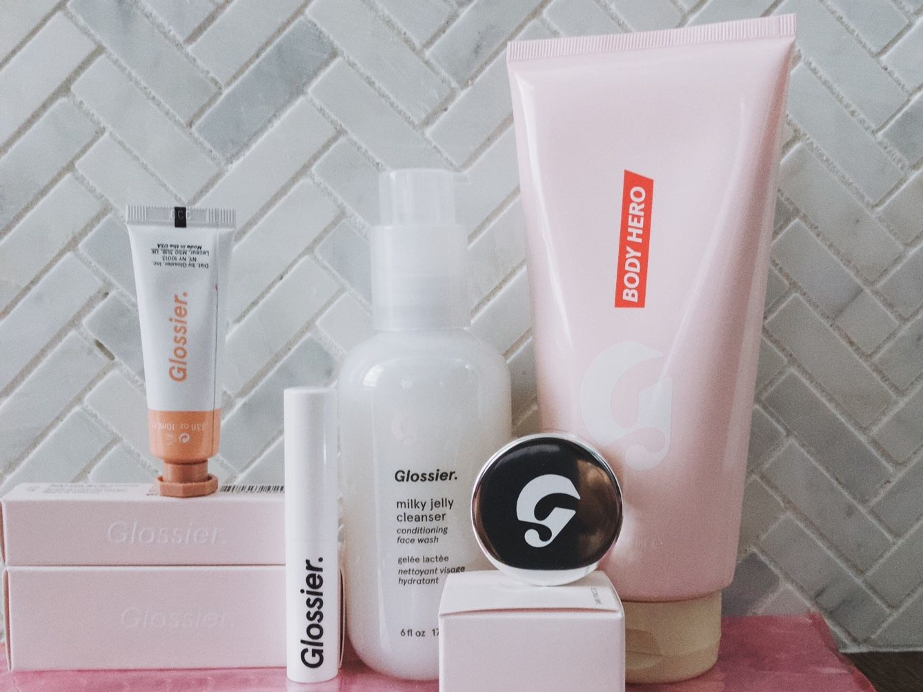 My 5 Favorite Glossier Products Cosmetic skin care