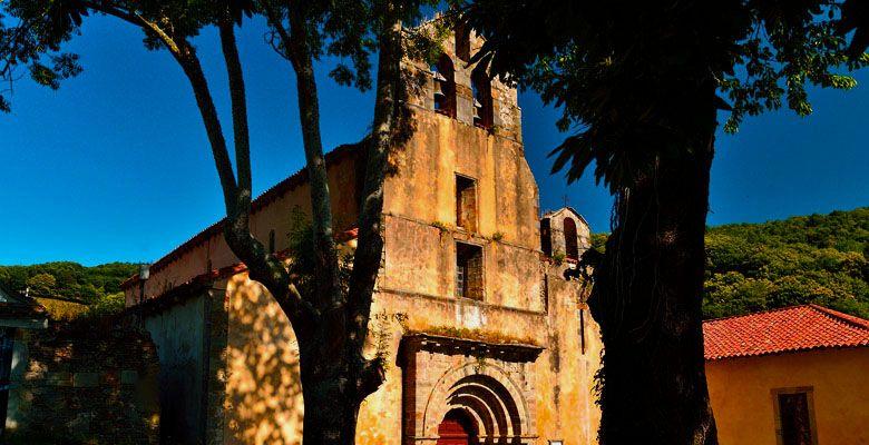 Monasterio de Obona en Tineo, Asturias