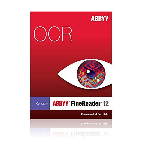 Abbyy USA FineReader 12 Corporate Edition for PC [Download]  http://www.bestcheapsoftware.com/abbyy-usa-finereader-12-corporate-edition-for-pc-download-2/