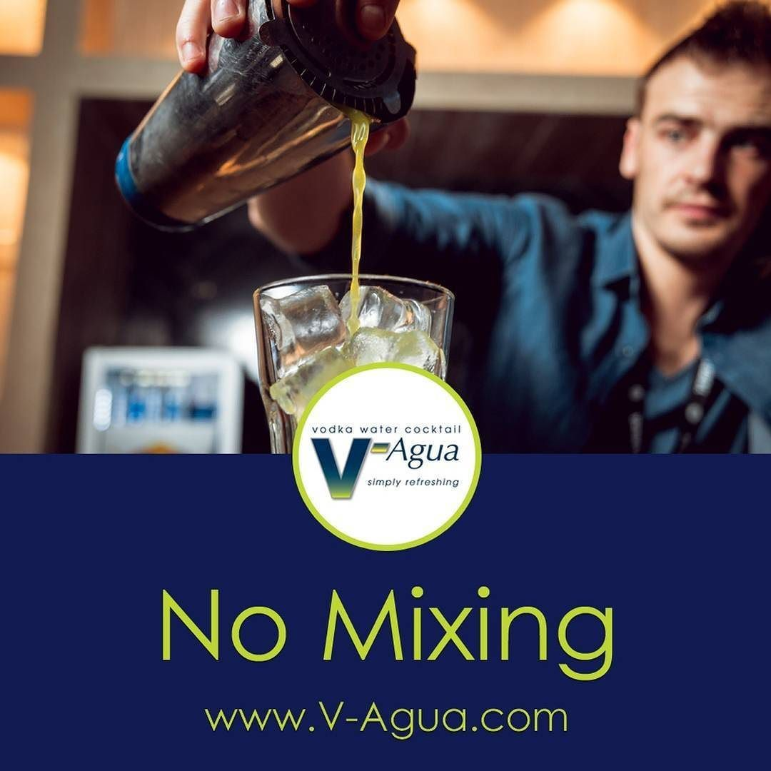 V-Agua is a 25 proof drink designed to pour over ice and enjoy no mixing required.  #vodka #vodkawater #vodkacocktail #vodkadrink #vodkapouch #vodkamix