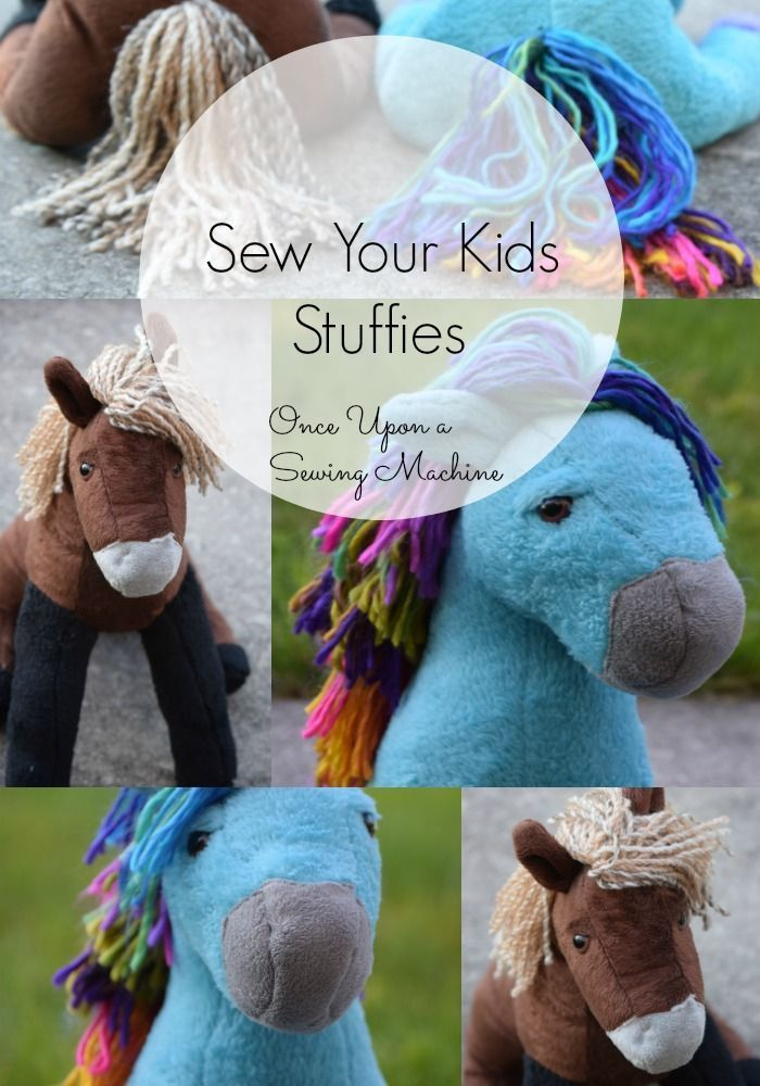 Horse #Stuffed #Animal #Pattern #- #Once #Upon #a #horsepattern