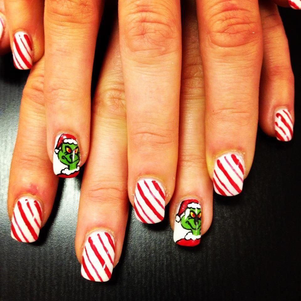 The Grinch Nails | Make-UP, Nails, & HAIRrrr <33 | Pinterest ...