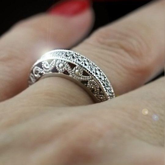 contemporary wedding rings MiaDonna Wedding Bands Wedding Rings