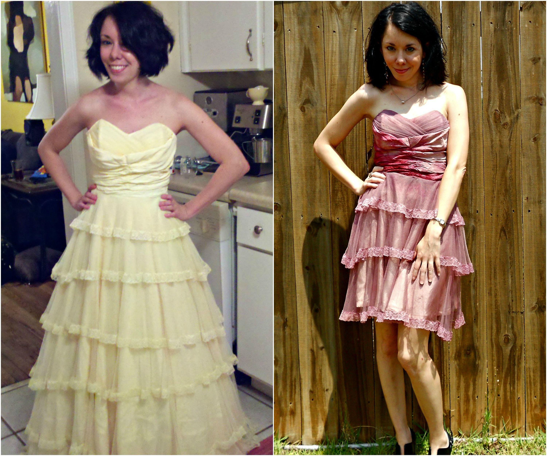 18++ Thrifted wedding dress transformation ideas
