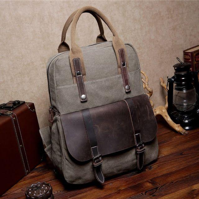 f8d5c6c2890ca MEXICAN 6 ™ hipsterska torba-plecak bawełna - skóra naturalna ...