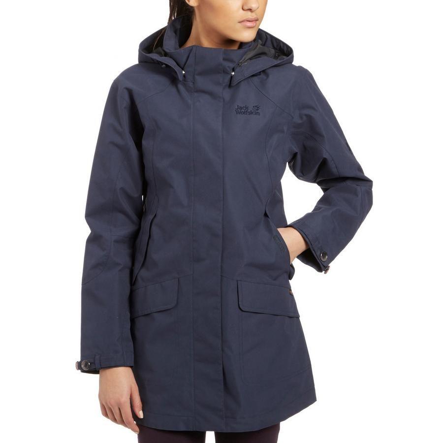 Jack Wolfskin Women's Queens Coat | Raincoat, Coat