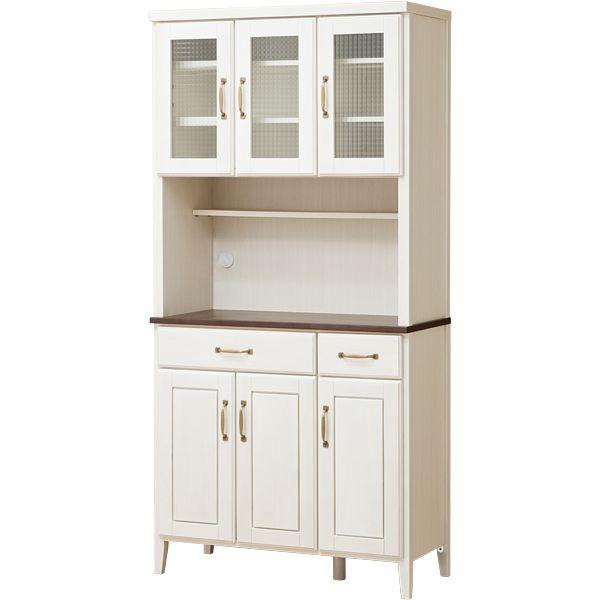 キッチンボード コルテ2 90kb Wh インテリア 家具 家具