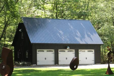 Three Car Garages With Attic Space Buy Detached 3 Car Garage In Pa Nj Ny Ct Garage Prices